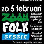ZaanFolk Sessie op zondag 5 februari