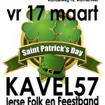 Kavel 57 op St. Patrick's Day in De Melterij