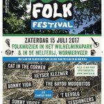 Poster ZaanFolk Festival 2017